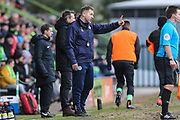 Forest Green Rovers assistant manager, Scott Lindsey during the EFL Sky Bet League 2 match between Forest Green Rovers and Notts County at the New Lawn, Forest Green, United Kingdom on 9 February 2019.