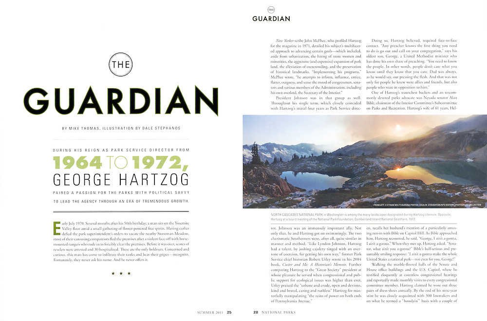National Parks Magazine: The Guardian (Summer 2011)