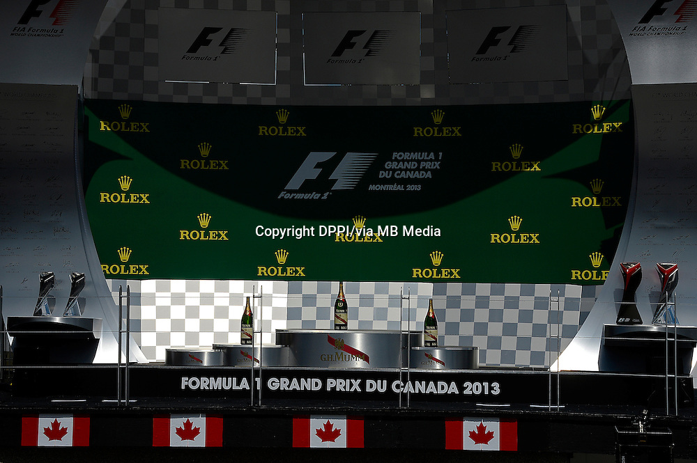 MOTORSPORT - F1 2013 - GRAND PRIX OF CANADA - MONTREAL (CAN) - 07 TO 09/06/2013 - PHOTO ERIC VARGIOLU / DPPI PODIUM - AMBIANCE