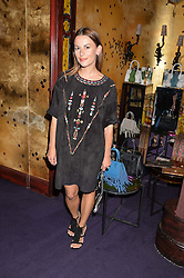 JULIET ANGUS at a party to celebrate the launch of the Dee Ocleppo 2015 Pre Fall Collection benefiting the Walkabout Foundation held at Loulou's, 5 Hertford Street, London on 16th June 2015.