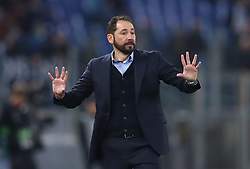 February 14, 2019 - Rome, Italy - SS Lazio v Fc Sevilla : UEFA Europa League Round of 32 .Pablo Machin manager of Sevilla at Olimpico Stadium in Rome, Italy on February 14, 2019. (Credit Image: © Matteo Ciambelli/NurPhoto via ZUMA Press)