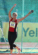 PORT ELIZABETH, SOUTH AFRICA, Friday 13 April 2012, Magdaleen Louw in the women's hammer throw during the Yellow Pages South African Senior and Combined Events Championships held at the Xerox Nelson Mandela Metropolitan University, Nelson Mandela Bay..Photo by Roger Sedres/Image SA/ASA