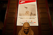 Tuesday September 2nd 2008. Perpignan, France..20th Visa Pour L'Image. Photojournalism Festival..Hotel Pams..