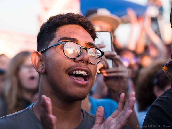 "People react to Bernie Sanders at the ""A Future to Believe In"" rally in Vallejo, California. Bernie Sanders is a candidate for the Democratic nomination for president."