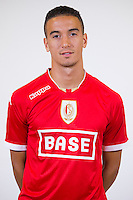 Standard's Damien Dussaut pictured during the 2015-2016 season photo shoot of Belgian first league soccer team Standard de Liege, Monday 13 July 2015 in Liege.