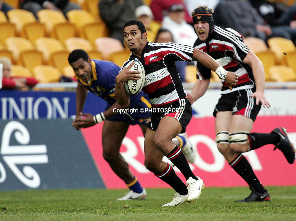 Leilia Masaga in action for Counties during the round one Air NZ Cup rugby union match between Counties Manukau and Otago at Mt Smart Stadium, Auckland, on Saturday 29 July 2006. Photo: Andrew Cornaga/PHOTOSPORT<br />