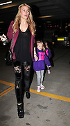 12.MARCH.2011. LIVERPOOL<br /> <br /> ALEX GERRARD ARRIVING AT THE ECHO ARENA IN LIVERPOOL TO WATCH JUSTIN BIEBER PERFORM WITH HER TWO CHILDREN, LEXIE AND ELLA WHO WERE WEARING MATCHING BIEBER JUMPERS.<br /> <br /> BYLINE: EDBIMAGEARCHIVE.COM<br /> <br /> *THIS IMAGE IS STRICTLY FOR UK NEWSPAPERS AND MAGAZINES ONLY*<br /> *FOR WORLD WIDE SALES AND WEB USE PLEASE CONTACT EDBIMAGEARCHIVE - 0208 954 5968*
