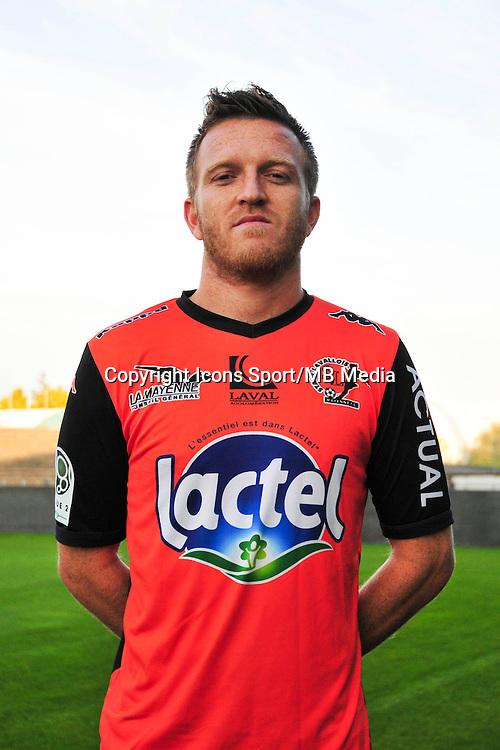 Sebastien Renouard - 17.09.2014 - Photo officielle Laval - Ligue 2 2014/2015<br /> Photo : Philippe Le Brech / Icon Sport