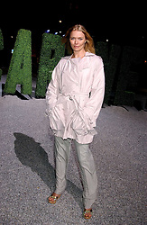 Model JODIE KIDD at a party to celebrate the Stella McCartney's unique collaboration with fashion store H&M at St.Olavs, Tooley Street, London SE1 on 25th October 2005.<br /><br />NON EXCLUSIVE - WORLD RIGHTS