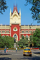Inde, Bengale Occidental, Calcutta (Kolkata), la Haute Cour// India, West Bengal, Kolkata, Calcutta, the High Court