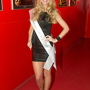 NLD/Amsterdam/20140201 - Uitverkiezing Playmate of the Year 2013, winnares Hester Winkel