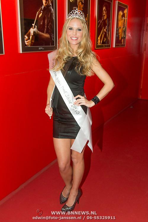 NLD/Amsterdam/20140201 - Uitverkiezing Playmate of the Year 2013, winnares Hester Winkel