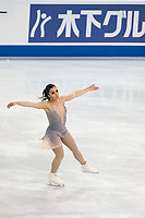 KELOWNA, BC - OCTOBER 26: Canadian figure skater Gabrielle Daleman competes during ladies long program of Skate Canada International held at Prospera Place on October 26, 2019 in Kelowna, Canada. (Photo by Marissa Baecker/Shoot the Breeze)