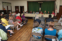 Candidate's Night at Wicwas Lake Grange in Meredith September 19, 2012
