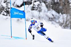 Downhill, MISAWA Hiraku, LW2, JPN at the WPAS_2019 Alpine Skiing World Championships, Kranjska Gora, Slovenia