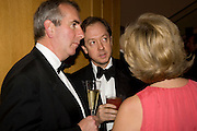 ROBERT HARRIS; GEORDIE GREIG, National Portrait Gallery fundraising Gala in aid of its Education programme, National Portrait Gallery. London. 3 March 2009 *** Local Caption *** -DO NOT ARCHIVE-© Copyright Photograph by Dafydd Jones. 248 Clapham Rd. London SW9 0PZ. Tel 0207 820 0771. www.dafjones.com.<br /> ROBERT HARRIS; GEORDIE GREIG, National Portrait Gallery fundraising Gala in aid of its Education programme, National Portrait Gallery. London. 3 March 2009