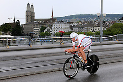 27.07.2014, Zürich, SUI, Ironman Zuerich 2014, im Bild Boris Stein (GER) // during the Zurich 2014 Ironman, Switzerland on 2014/07/27. EXPA Pictures © 2014, PhotoCredit: EXPA/ Freshfocus/ Claude Diderich<br /> <br /> *****ATTENTION - for AUT, SLO, CRO, SRB, BIH, MAZ only*****