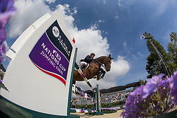 Kermond Jamie (AUS) - Quite Cassini<br /> Challenge Cup<br /> Furusiyya FEI Nations Cup™ Final - Barcelona 2014<br /> © Dirk Caremans<br /> 10/10/14