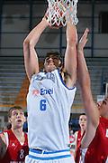 DESCRIZIONE : Gorizia Europeo Under 20 Italia Bulgaria <br /> GIOCATORE : Davide Bruttini <br /> SQUADRA : Nazionale Italiana Maschile Under 20 <br /> EVENTO : Campionato Europeo Under 20 <br /> GARA : Italia Bulgaria <br /> DATA : 06/07/2007 <br /> CATEGORIA : Schiacciata<br /> SPORT : Pallacanestro <br /> AUTORE : Agenzia Ciamillo-Castoria/S.Silvestri <br /> Galleria : Europeo Under 20 <br /> Fotonotizia : Goriza Campionato Europeo Under 20 Italia Bulgaria <br /> Predefinita :