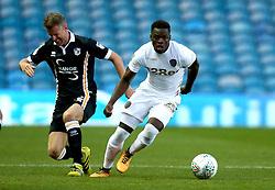Ronaldo Vieira of Leeds United goes past Michael Tonge of Port Vale - Mandatory by-line: Robbie Stephenson/JMP - 09/08/2017 - FOOTBALL - Elland Road - Leeds, England - Leeds United v Port Vale - Carabao Cup
