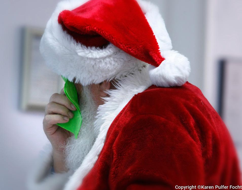 Crying Santa.....