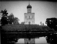 Church of the Intercession on the Nerl, Bolgolyubovo, Russia.