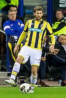 ARNHEM - Vitesse - PSV , Voetbal , Eredivisie , Seizoen 2016/2017 , Gelredome , 29-10-2016 ,  Vitesse speler Sheran Yeini
