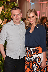 "Donna Air and Marcus Lupfer at the opening of ""Frida Kahlo: Making Her Self Up"" Exhibition at the V&A Museum, London England. 13 June 2018."
