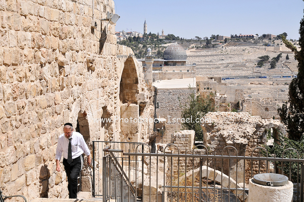 Israel, Jerusalem The Jewish quarter in the Old City