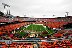 Jan 22, 2012; San Francisco, CA, USA; General view of Candlestick Park before the 2011 NFC Championship game between the San Francisco 49ers and the New York Giants.  Mandatory Credit: Jason O. Watson-US PRESSWIRE
