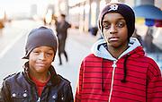 Kids Portrait on the Atlantic City Boardwalk