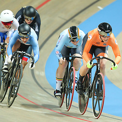03-03-2019: WK wielrennen: Baan: Pruszkow<br />- Cycling - UCI Track Cycling World Championships presented by Tissot - Velodrome BGZ Arena, Pruszkow, Poland - Shanne Braspennincx of The Netherlands in the Women's Keirin.