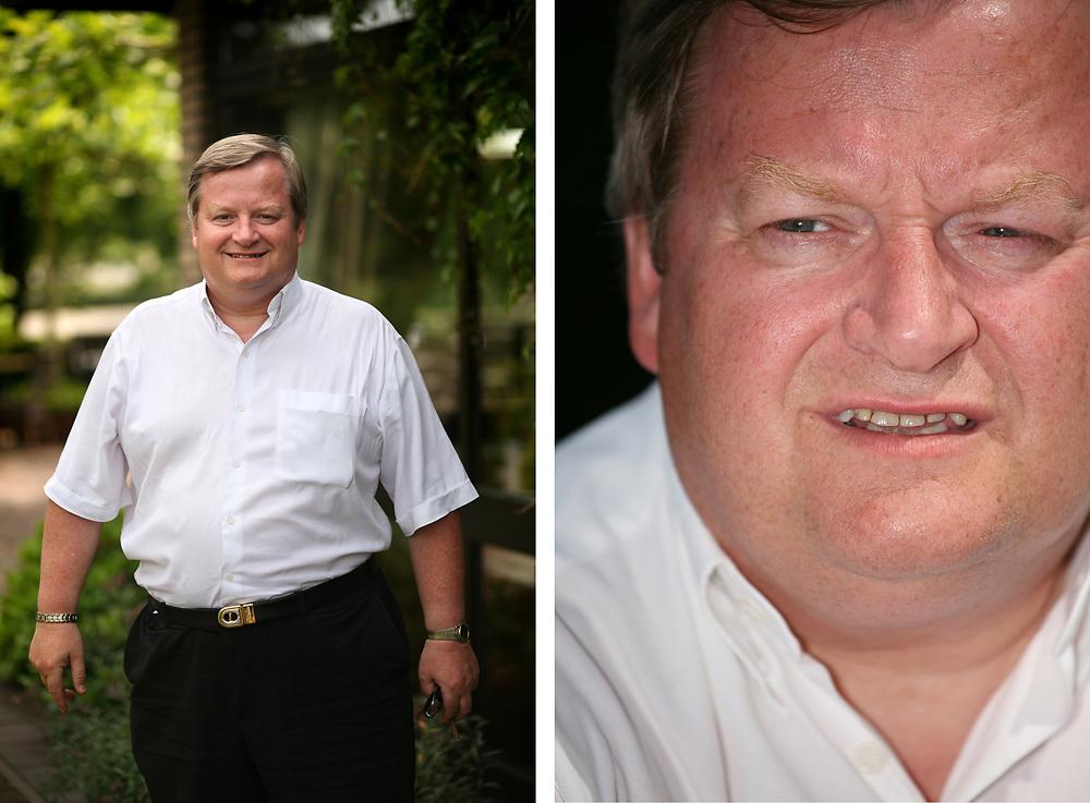 Hilbrand Nawijn, former minister for immigration // Hillbrand Nawijn, voormalig minister voor Vreemdelingenzaken en Integratie voor de Lijst Pim Fortuyn (LPF) in het kabinet-Balkenende I.