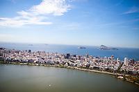 View of Ipanema and Leblon neighborhoods between the Lagoon and the Atlantic Ocean, in Rio de Janeiro, Brazil, on Saturday, Feb. 2, 2013.