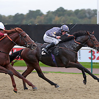 Modernism and Jim Crowley winning the 3.50 race