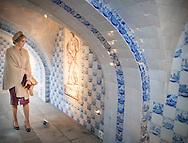 10–2-2017 - Oranienbaum - King Willem-Alexander and Maxima lunch Watermanagent Schloss Oranienbaum.  King Willem-Alexander and Maxima will visit from Tuesday 7 to Friday, February 10th, 2017 a working visit to the German states of Thuringia Thüringen, Saxony and Saxony-Anhalt  Saksen en Saksen-Anhalt. Copyright ROBIN UTRECHT<br /> DESSAU - Koning Willem-Alexander en koningin Maxima krijgen een rondleiding door landgoed Schloss Oranienbaum op de vierde en laatste dag van een werkbezoek van het koningspaar aan de Duitse deelstaten Saksen, Saksen-Anhalt en Thuringen.