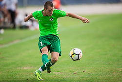 Nejc Strajnar of ND Ilirija during football match between ND Ilirija 1911 and NK Krsko in 1st Round of Slovenian Football Cup 2017/18, on August 16, 2017 in Stadium Ilirija, Ljubljana, Slovenia. Photo by Vid Ponikvar / Sportida