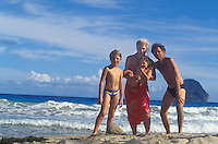 Franken family in Martinique - Photograph by Owen Franken