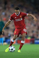 23rd August 2017 - UEFA Champions League - Play-Off (2nd Leg) - Liverpool v 1899 Hoffenheim - Trent Alexander-Arnold of Liverpool - Photo: Simon Stacpoole / Offside.
