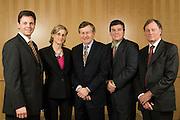 Portrait des membres du conseil d'administration de Réseau Capital -  Hotel Sofitel / Montreal / Canada / 2008-12-10, © Photo Olivia Viveros / adecom.ca