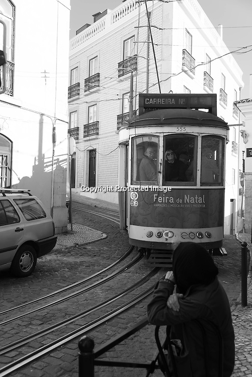 Portugal. Lisbon. Alfama district / le quartier de l'Alfama . Lisbonne