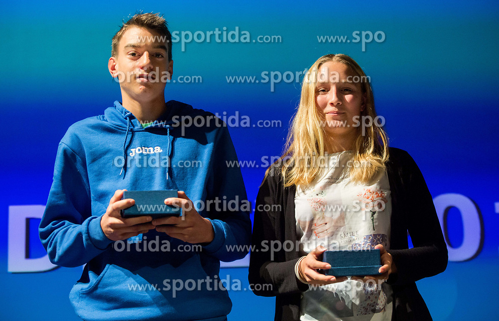 Slovenian Tennis personality of the year 2017 annual awards presented by Slovene Tennis Association Tenis Slovenija, on November 29, 2017 in Siti Teater, Ljubljana, Slovenia. Photo by Vid Ponikvar / Sportida