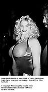 Anna Nicole Smith  at Steve Tisch &  Vanity Fair's Oscar Night Party,<br />Mortons,  Los Angeles. March 1994.  Film 94573/33<br /> <br /><br />© Copyright Photograph by Dafydd Jones<br />66 Stockwell Park Rd. London SW9 0DA<br />Tel 0171 733 0108.