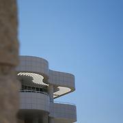 The impressive architecture of the Getty Center in LA is a star in it's own right.