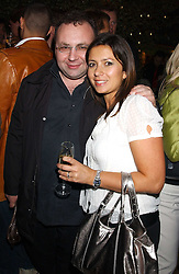 JONATHAN SHALIT and GMTV presenter CLARE NASIR at a party for the relaunch of Pizza on The Park, 11 Knightsbridge, London on 20th October 2005.<br /><br />NON EXCLUSIVE - WORLD RIGHTS