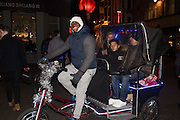Pedicab near Bond st. . . London. 16 January 2016