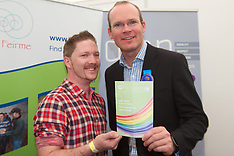 Glen And Simon Coveney at National Ploughing Championships, at Ratheniska, Co. Laois.