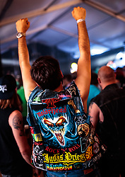 23.06.2017, Baumbar Areal, Kaprun, AUT, Austropop Festival, im Bild Musikfans // Music Fans during the Austropop Festival in Kaprun, Austria on 2017/06/23. EXPA Pictures © 2015, PhotoCredit: EXPA/ JFK