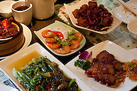 chinese meal on a table in shanghai china