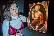 Lucas Cranach the Elder, LUCRETIA, est £400,000-600,000  - London Old Masters Evening sale exhibition at Sotheby's New Bond Street. The sale takes palce on 6 December 2017 covers 400 years of art history.